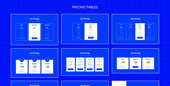 Symple – Wireframe Kit Sketch Template