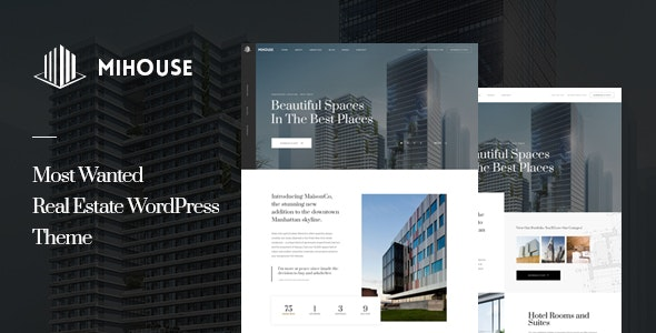 Mihouse – Single Property WordPress Theme - Real Estate WordPress