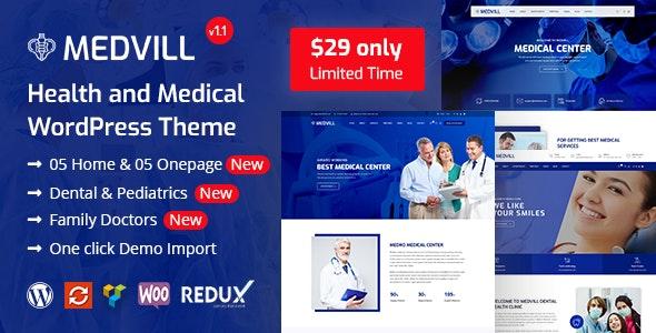 Medvill - Health & Medical WordPress Theme - Health & Beauty Retail
