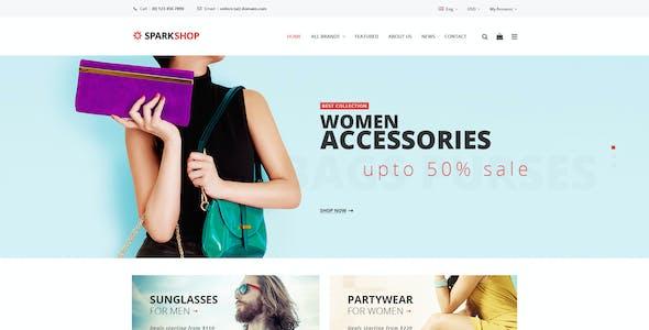Spark - Shop PSD template