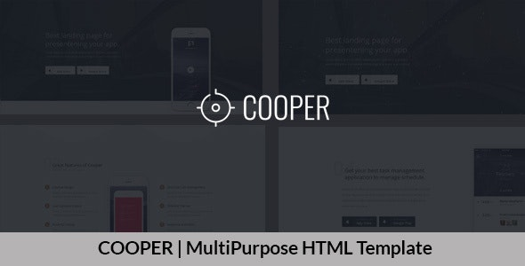 COOPER | MultiPurpose HTML Template - Technology Site Templates