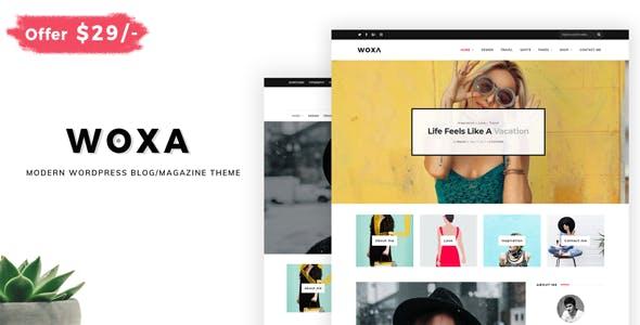 Woxa - Responsive WordPress Theme for Blogs/Mini-Magazines