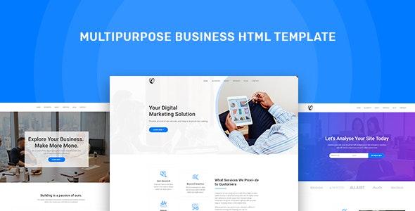 Stbbiz - Multipurpose Business HTML Template - Business Corporate