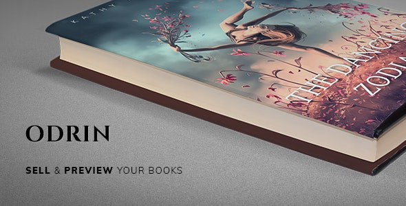 Odrin - Book Selling WordPress Theme for Writers and Authors - Corporate WordPress