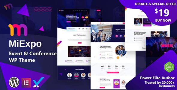 MiExpo | Event Conference WordPress Theme