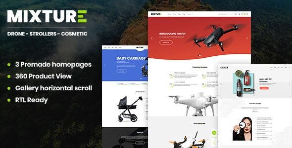 Mixture | Single Product Shopify Theme - Shopify eCommerce