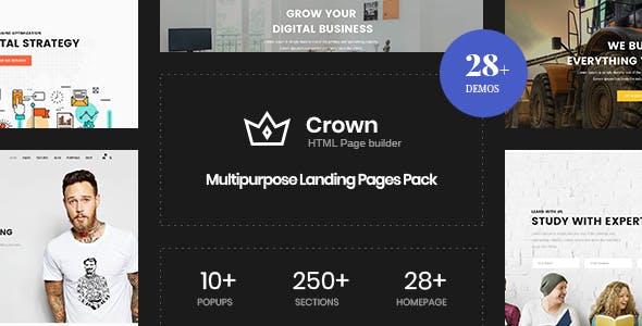 Crown | Multi-Purpose Html5 Landing Template