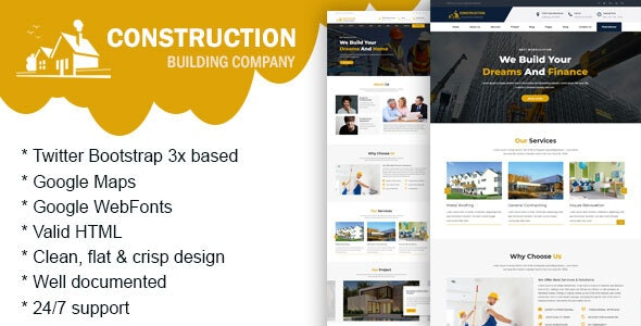 Conmax - Construction Building Company - Business Corporate