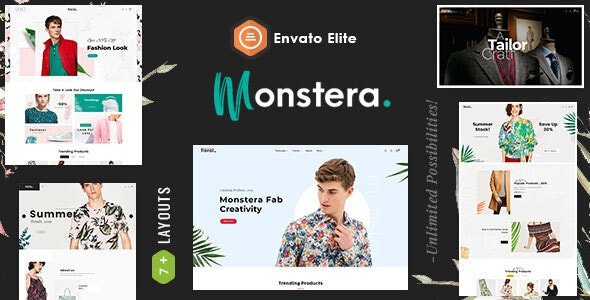 Monstera - Shopify Multi purpose Responsive Theme - Fashion Shopify
