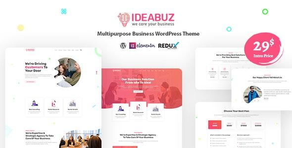 Ideabuz | Multipurpose Business WordPress Theme - Business Corporate