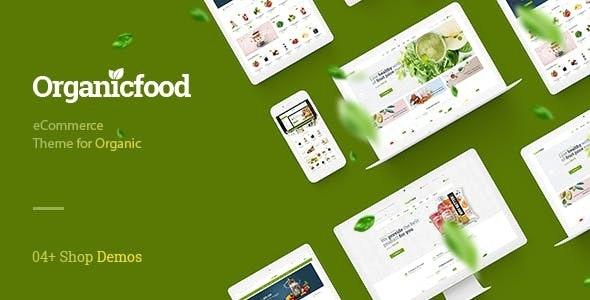 OrganicFood - Organic, Food,  Alcohol, Cosmetics PrestaShop Theme - Health & Beauty PrestaShop