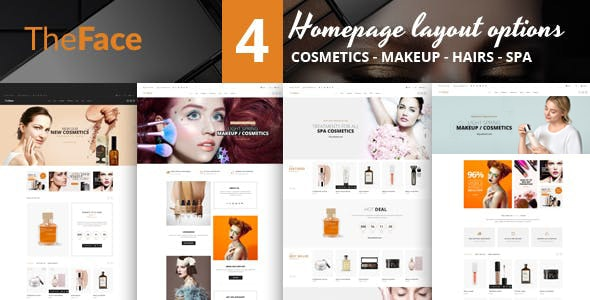 Theface - PrestaShop Theme for Beauty & Cosmetics Store - Health & Beauty PrestaShop