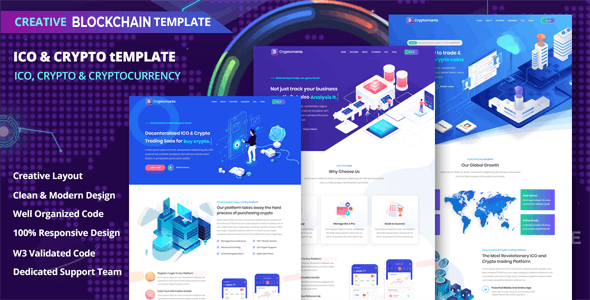 Ico Website Templates from ThemeForest