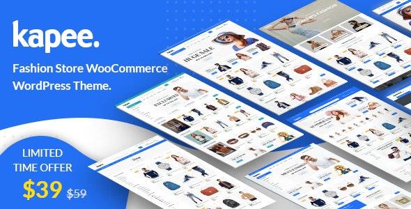 Kapee - Fashion Store WooCommerce Theme - WooCommerce eCommerce