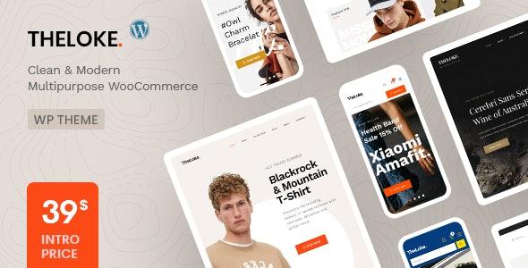 TheLoke - Multi-Purpose & Electronics Store WooCommerce Theme - WooCommerce eCommerce