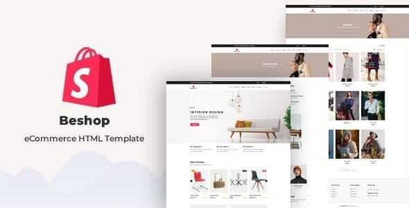 Beshop - eCommerce HTML Template - Shopping Retail