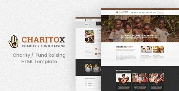 Charitox : Charity and Fund Raising HTML Template - Charity Nonprofit