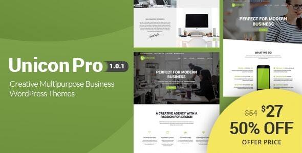 Unicon Pro | Responsive MultiPurpose WordPress Theme - Corporate WordPress