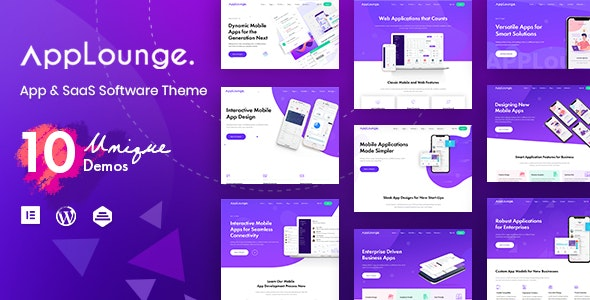 AppLounge - Multipurpose SaaS WordPress Theme - Technology WordPress