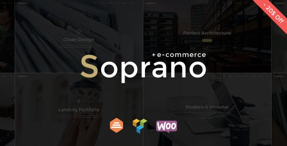 Soprano - Minimalistic Multi-Purpose WordPress Theme