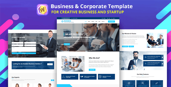 Bizzness - Business Agency & Corporate Template - Business Corporate