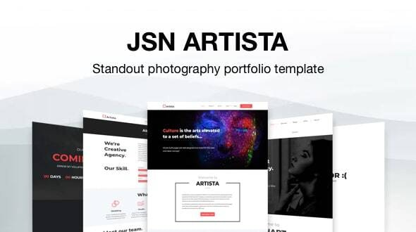 JSN Artista - Standout Photography Portfolio Joomla Template - Photography Creative
