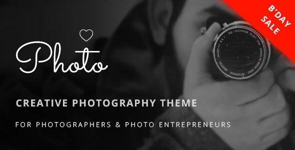Photoluv - Creative Theme for Photographers & Photo Entrepreneurs - Photography Creative