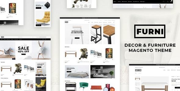 Furni - Decor & Furniture Magento 2 Theme - Magento eCommerce