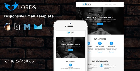 Lords - Responsive Email Template - Newsletters Email Templates