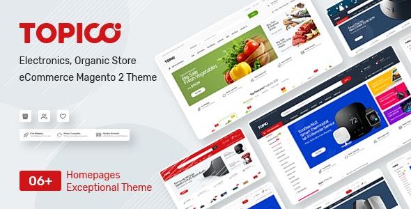 Topico - Responsive Magento 2 Theme - Shopping Magento