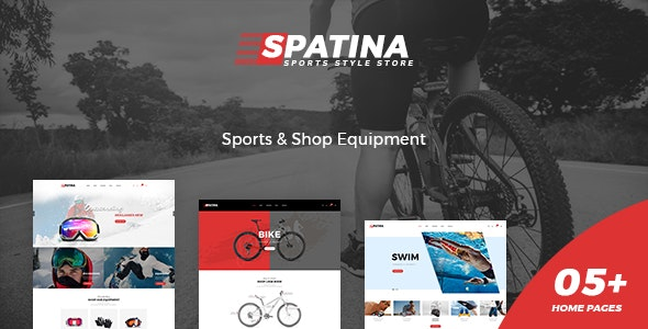 Spatina – Sports Store WooCommerce WordPress Theme - WooCommerce eCommerce