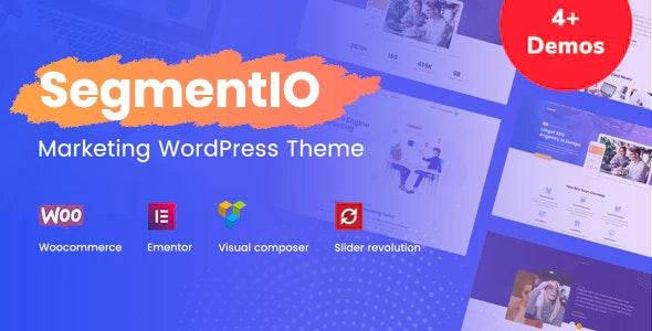 SegmentIO - Marketing WordPress Theme - Marketing Corporate