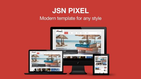 JSN Pixel - Responsive & Multi-Purpose Joomla Template - Creative Joomla