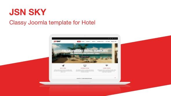 JSN Sky - Responsive Joomla Template for Hotel Website - Retail Joomla