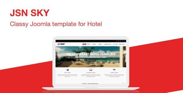 JSN Sky - Responsive Joomla Template for Hotel Website