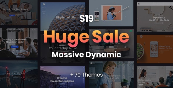 Massive Dynamic - WordPress Website Builder - Corporate WordPress