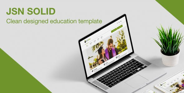 JSN Solid - A Clean & Responsive Education Template for Joomla