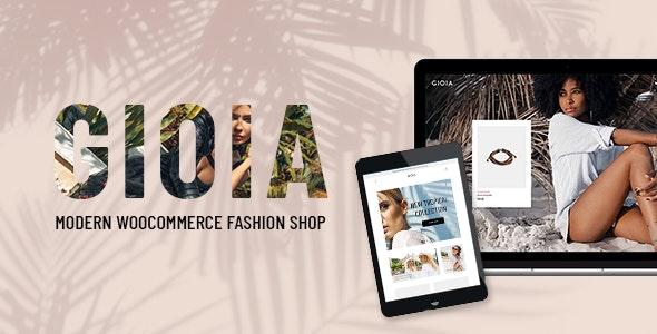 Gioia - Modern Fashion Shop - WooCommerce eCommerce