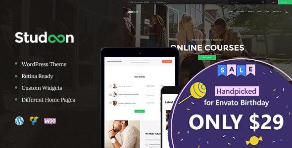 Studeon | An Education Center & Training Courses WordPress Theme - Education WordPress