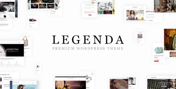 Legenda - Responsive Multi-Purpose WordPress Theme - WooCommerce eCommerce
