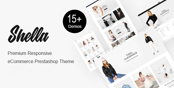 Shella - Premium Fashion Prestashop Theme - Fashion PrestaShop