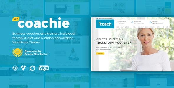 Coachie - WordPress Theme For Coaching Business - Health & Beauty Retail