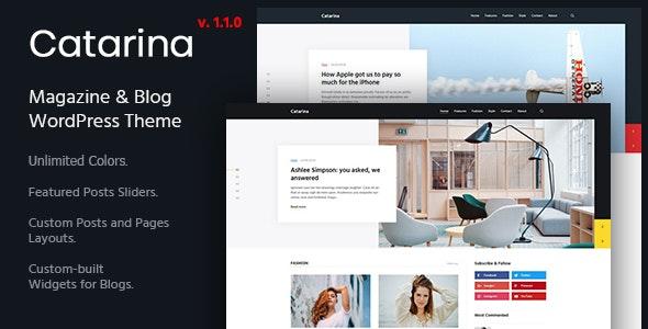 Catarina - Personal Blog & Magazine WordPress Theme - Personal Blog / Magazine