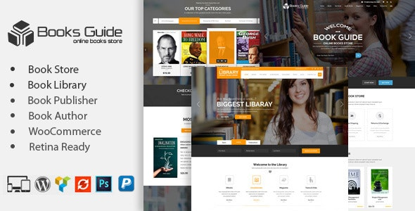 Book Store WordPress Theme - eCommerce WordPress