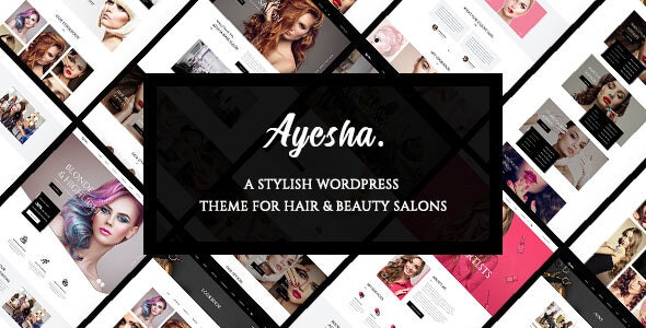 Ayesha - Hairdressers and Beauty Salons WordPress Theme - Fashion Retail
