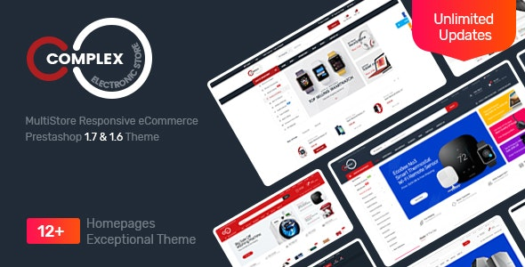 Complex Responsive Prestashop 1.7&1.6 Theme - Technology PrestaShop