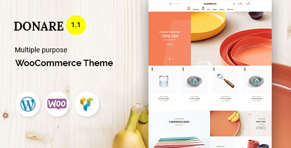 Donare - Gift Store WooCommerce Theme - WooCommerce eCommerce