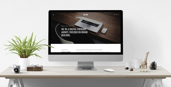 Belton – Minimal HTML5 Black and White Multipurpose Template - Business Corporate