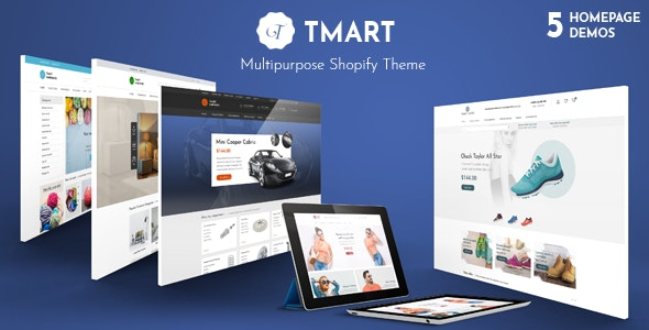 Tmart - Multipurpose Responsive Shopify Theme - Shopify eCommerce