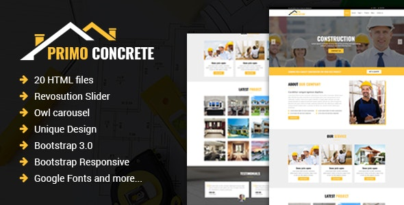 Primo - Construction Building Company - Business Corporate